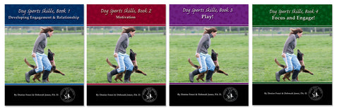 Dog Sports Skills - Set of Books One, Two, Three, Four -  including shipping