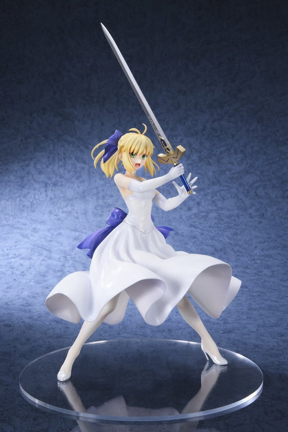 Saber White Dress Version (3rd-Run) 1/8 Scale Figure Fate/Stay Night Unlimited Blade Works Pre-order