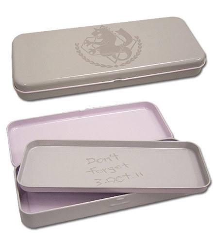 Full Metal Alchesmist Brotherhood State Alchemist Tin Pencil Case