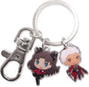 Fate/Stay Night Archer & Rin Metal Keychain