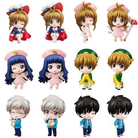 Cardcaptor Sakura Everything is All Right Petit Chara! Trading Figures Blind Box