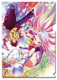 No Game No Life Sora & Shiro Key Art File Folder