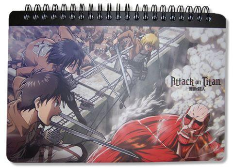 Attack on Titan Spiral Notebook