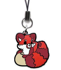 Adzuki Red Panda Metal Phone Charm - Alpine Anime