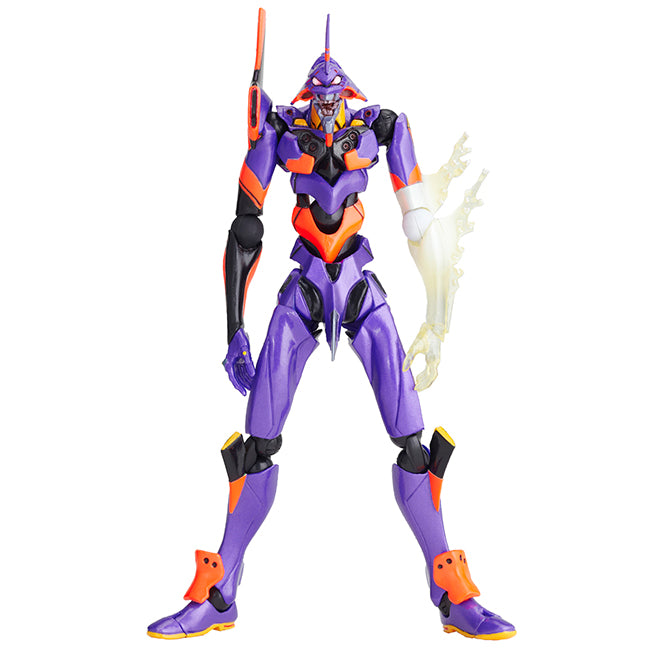 "Revoltech Evangelion Evolution Eva-01 Test Type ""Awakened Version"" Pre-order Figure"