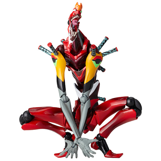 "Revoltech Evangelion Evolution EVA-02 Beast Mode 2nd Form ""The Beast"" Pre-order"