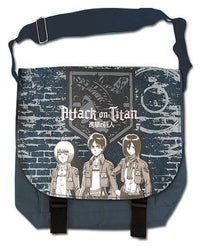 Attack On Titan Group & Wall Messenger Bag - Alpine Anime