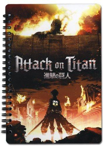 Attack on Titan Spiral Notebook - Alpine Anime