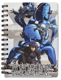 Ghost in the Shell S.A.C. Spiral Notebook - Alpine Anime