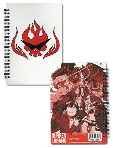 Gurren Lagann Spiral Notebook - Alpine Anime