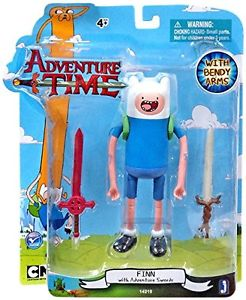 Adventure Time: Finn with New Face and 2 Swords 5'' Action Figure