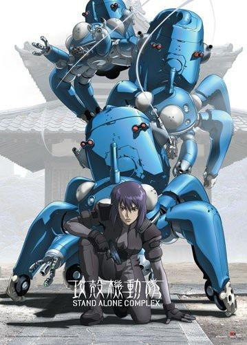 Ghost in the Shell SAC Wall Scroll - Alpine Anime