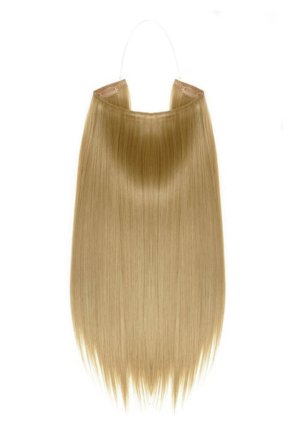 24'' European Human Remy Halo Hair Extensions