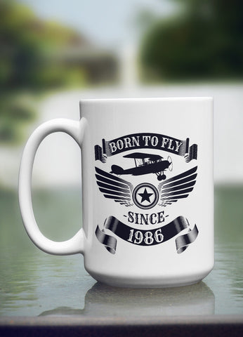 "Limited Edition - ""1986"" 15oz Mug"