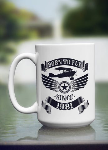 "Limited Edition - ""1981"" 15oz Mug"