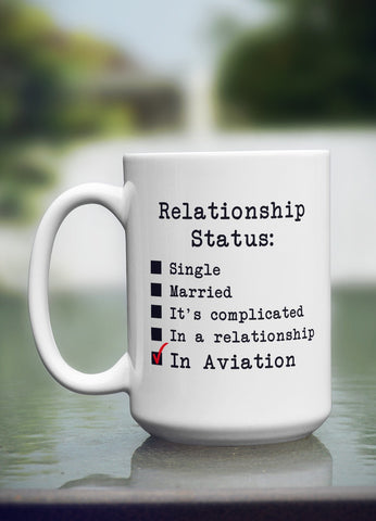 "Limited Edition ""Relationship Status"" 15oz Mug"