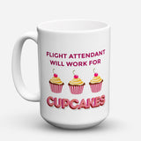 "Limited Edition - ""Cupcakes"" 15oz Mug"