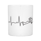 "Limited Edition ""Biplane Heartbeat"" Premium Mug - 11oz"