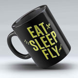 "Limited Edition - ""Eat, Sleep, Fly"" 11oz Mug"