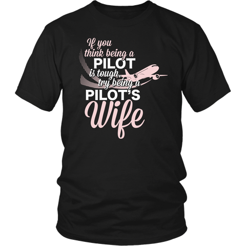 "Limited Edition - ""Pilot's Wife"" T-Shirt & Hoodie"