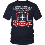 "Limited Edition ""In My Head I'm Flying"" T-Shirt"
