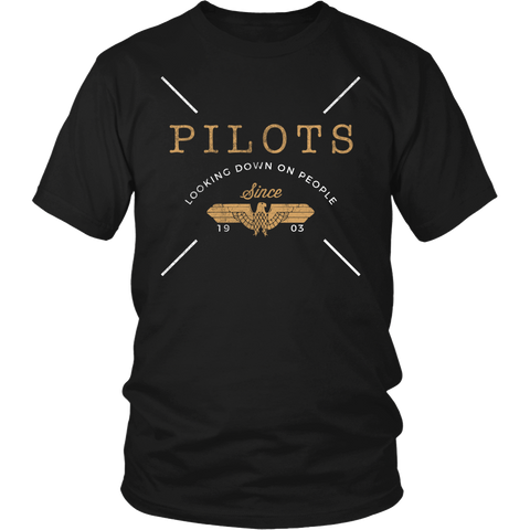 "Limited Edition ""Pilots Looking Down 2"" T-Shirt & Hoodie"