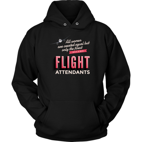 "Limited Edition - ""Flight Attendants"" Hoodie - Tank - Shirt"