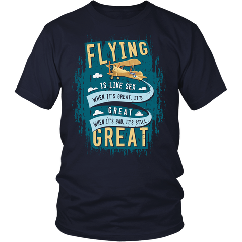 "Limited Edition ""Flying is Like"" T-Shirt & Hoodie"