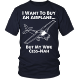 "Limited Edition ""Wife Cess-Nah"" T-Shirt"