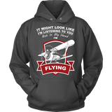 "Limited Edition ""In My Head I'm Flying"" Biplane T-Shirt"