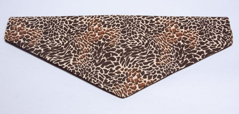 Animal Print - Brown 2 Pet Bandana