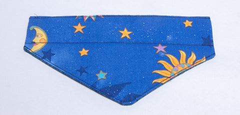 Half-Moon Stars 1 Pet Bandana