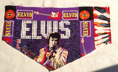 Elvis on Stage Pet Bandana