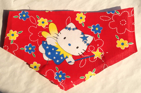 Miss Kitty with Wand Pet Bandana
