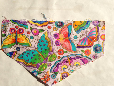 Nature - Insects Bright Butterflies Pet Bandana