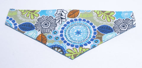 Nature - Insects Bursts of Color 1  Pet Bandana