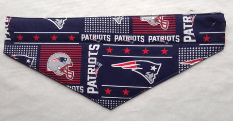New England Patriots Pet Bandana