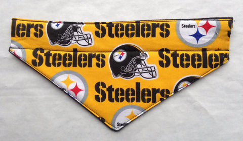 Pittsburgh Steelers Gold Pet Bandana