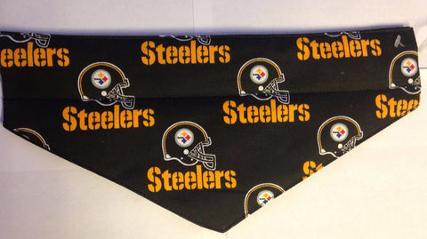Pittsburgh Steelers Black Pet Bandana