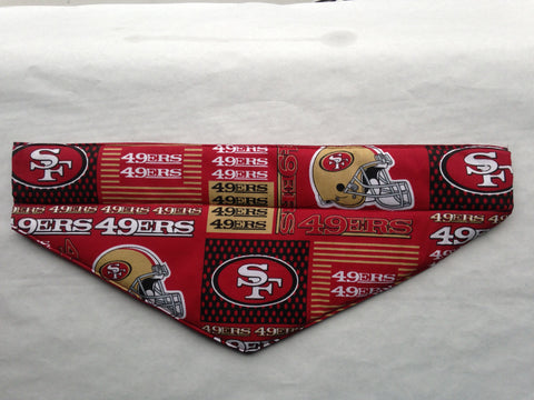 San Francisco 49ers Crimson Pet Bandana