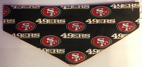 San Francisco 49ers Black Pet Bandana