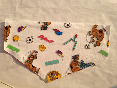 Scooby Doo Sports Pet Bandana