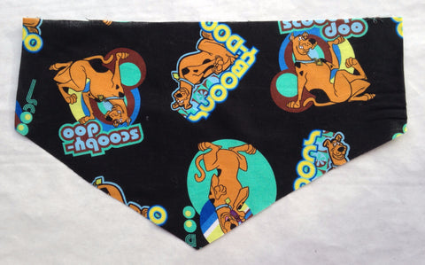 Scooby Doo on Black Pet Bandana