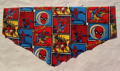 Spiderman Patchwork Pet Bandana