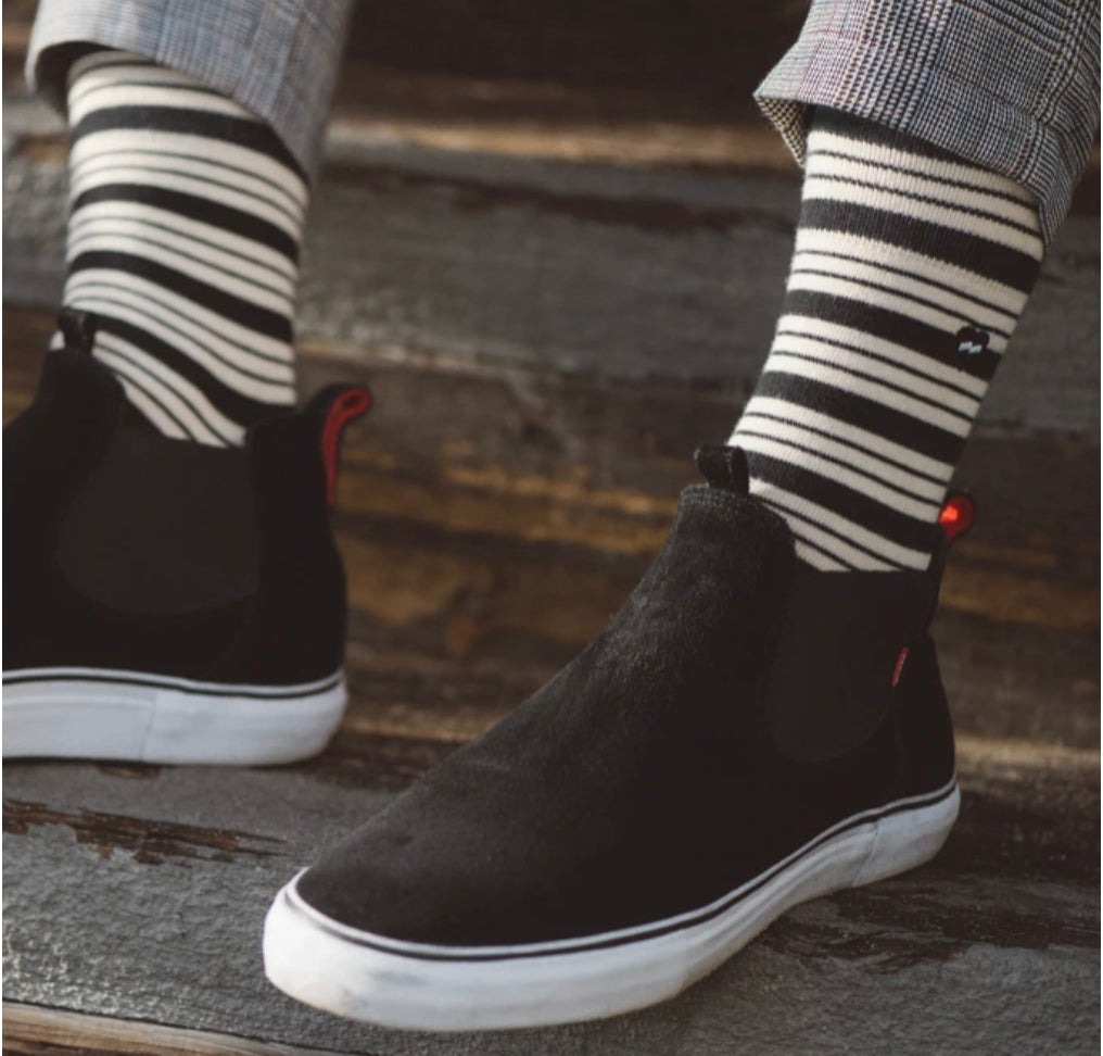 Highway Socks | Dirty Black