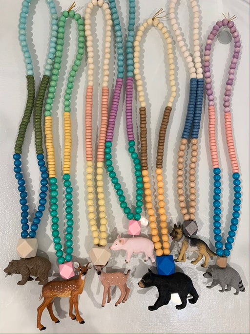 Poepie Animal Necklace