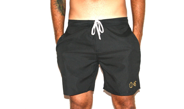 Neptune Swim Trunks | Death Metal Black