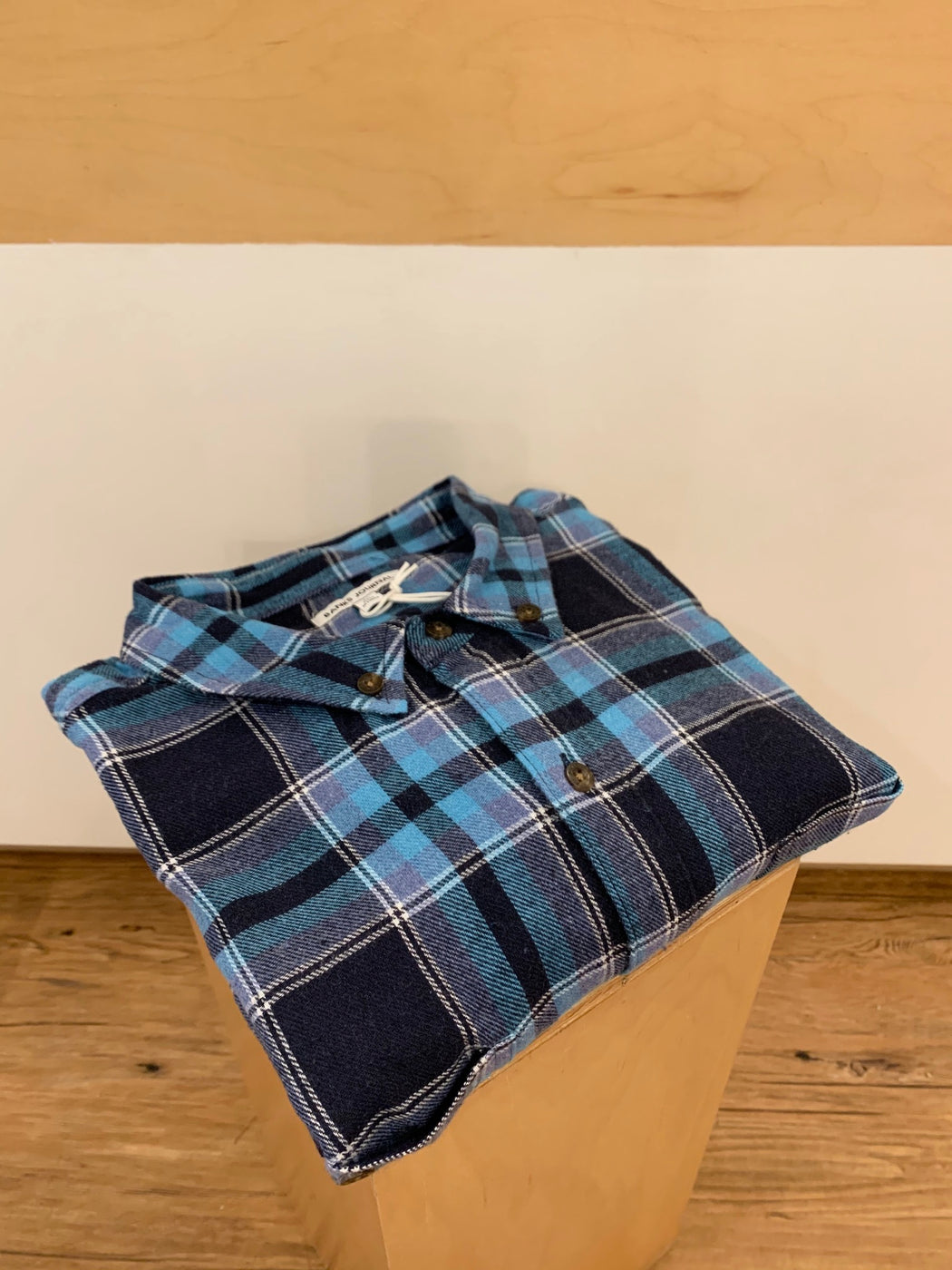 Vanish Long Sleeve Flannel | Smoke Blue