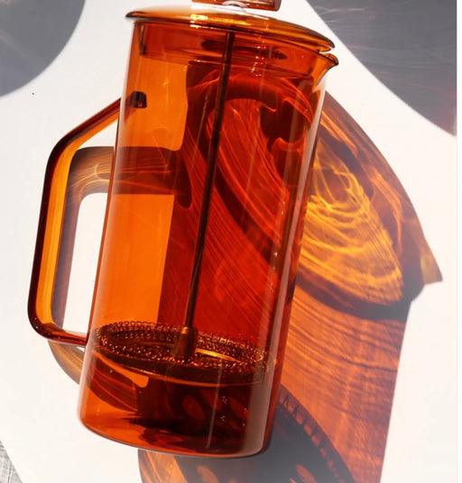 Glass French Press | Amber