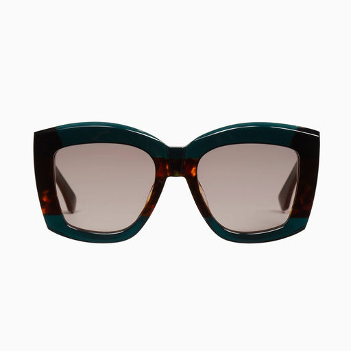 Coltrane | Dark Sea Green w. Tort Centre / Brown Lens